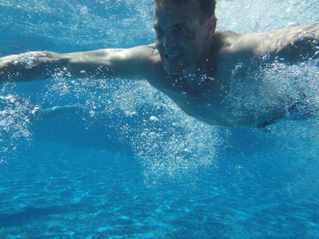 volwassen zwemmen