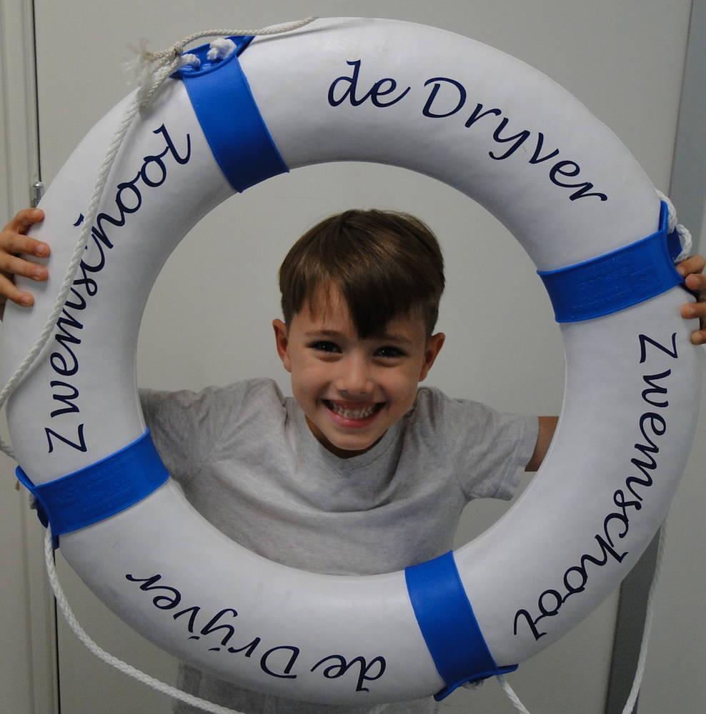 Afzwemmen bij Zwemschool de Drijver